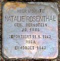 Stolperstein Salzburg, Natalie Rosenthal (Rainerstraße 4).jpg