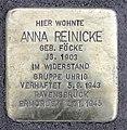 Stolperstein Schillerstr 50 (Wilhe) Anna Reinicke.jpg