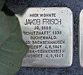 Stolperstein für Jakob Frisch, Wiesenstraße 10, Chemnitz.JPG