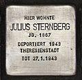 Stolperstein für Julius Sternberg.JPG