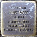 Stolpersteine Höxter, Ernst Möse (Papenstraße 4).jpg