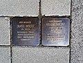 Stolpersteins Jakob Wolff, Nanny Wolff, Kölner Straße 28, Wesseling.jpg
