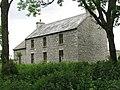 Stone manor house near Ballykinvarda megaltihic monument - geograph.org.uk - 843089.jpg