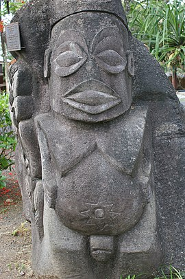 Stone sculpture, Rarotonga, Cook Islands.jpg