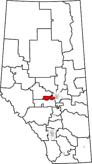Stony Plain (electoral district) - 2010 boundaries