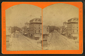 Farmington, New Hampshire - Street scene c. 1880