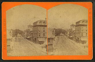 Farmington, New Hampshire - Street scene c. 1880