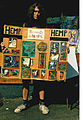 Strolling art vendor - U. Dist Street Fair 1993.jpg