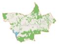 Stryszów (gmina) location map.png