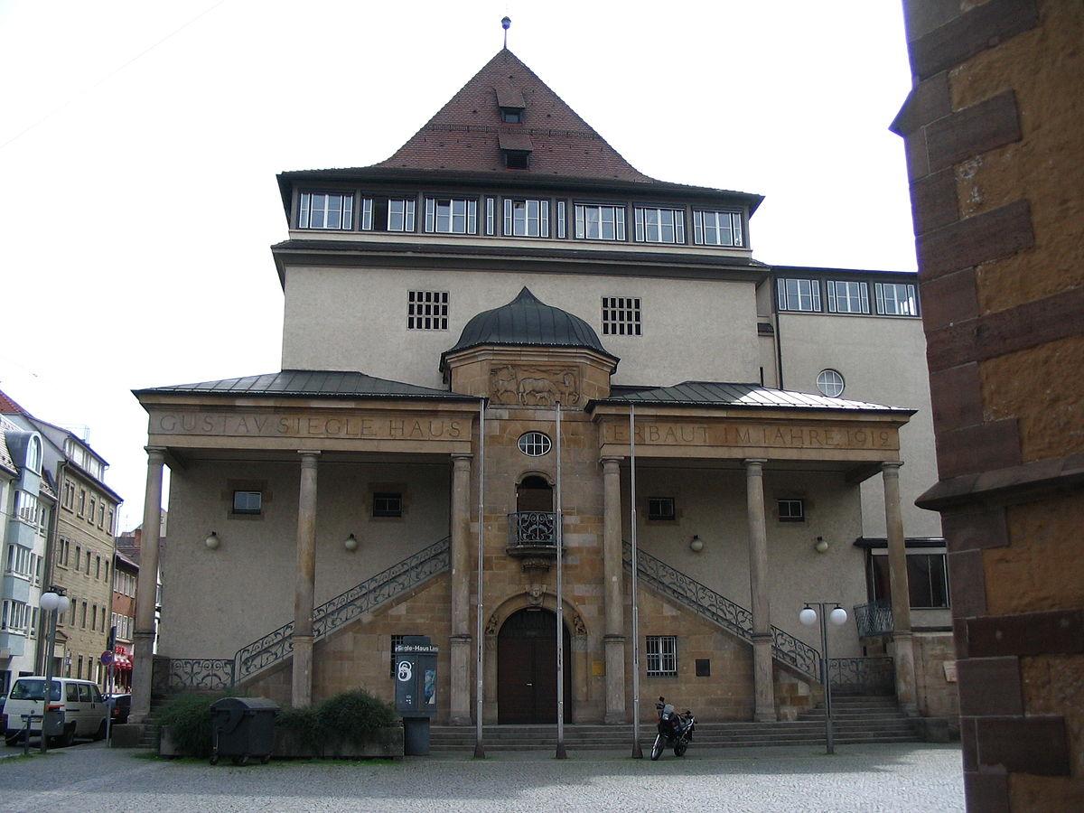 Gustav-Siegle-Haus - Wikipedia