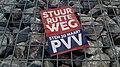 Stuur Rutte weg (Stem 20 Maart PVV) pamphlet, Winschoten (2019) 02.jpg