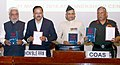 Subhash Ramrao Bhamre releasing two books, namely 'The Purpose of India's Security Strategy Defence.jpg