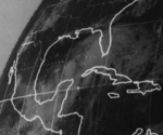 Subtropical Storm One on June 24, 1974 at 0800z.png