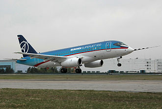 Sukhoi Superjet 100 - Maiden flight on 19 May 2008