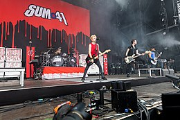 Sum 41 bei Rock am Ring 2017
