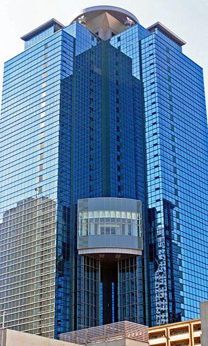 H.I.S. (travel agency) - Image: Sumitomo fudosan shinjuku oak tower 2009 2 cropped