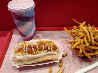 Hot dog variations - Super Duper Weenie from Fairfield, CT