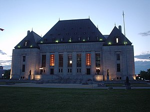 Supreme Court of Canada, Ottawa, Canada.