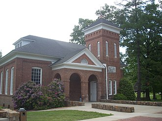 Young Harris College - Susan B. Harris Chapel, built in 1892, is the oldest building on the campus