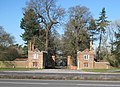 Sutton Place, East Lodge gates - geograph.org.uk - 696477.jpg