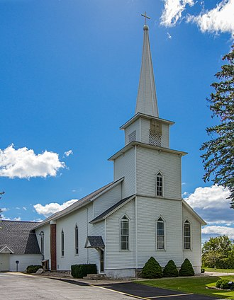 Osceola County, Michigan - Image: Swedish Evangical Lutheran Church