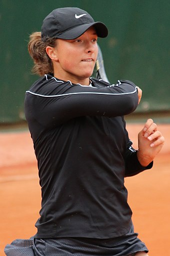 Iga Świątek was the winner of the Women's Singles in 2020.