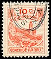 Switzerland Aarau 1908 revenue 10C - 13.jpg
