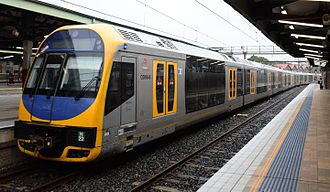UGL Rail - NSW TrainLink H set.