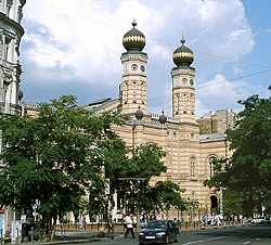 Synagogue Boedapest