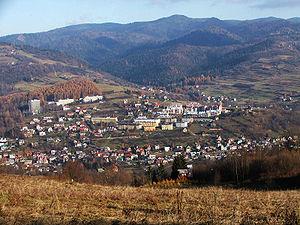 Szczawnica - Image: Szczawnica a 2