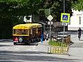 Třeboň, Jiráskova, silniční vláček (04).jpg
