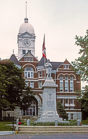 Taylor County, Iowa - Image: TAYLOR COUNTY COURTHOUSE