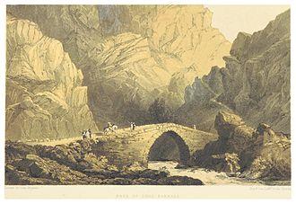 Barada - Image: TOBIN(1855) p 282 PASS OF SOOC BARRADA