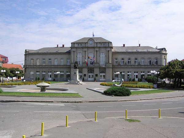 TRG KRALJA PETRA Bijeljina Town Hall