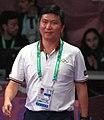 Table tennis at the 2018 Summer Youth Olympics – Athlete Role Model's on Singles final day 10 (cropped).jpg