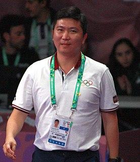 Ryu Seung-min South Korean table tennis player