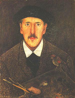 Tadeusz Makowski - Self-portrait (c.1920)