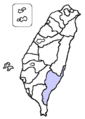 Taitung County location.png