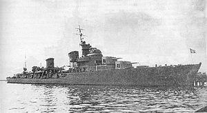 Tashkent-class destroyer - Image: Tashkent 03
