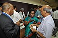 Tea Break Discussion - VMPME Workshop - Science City - Kolkata 2015-07-15 8703.JPG
