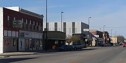 Downtown Tekamah: 13th Street