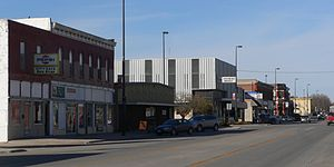 Tekamah, Nebraska - Downtown Tekamah: 13th Street