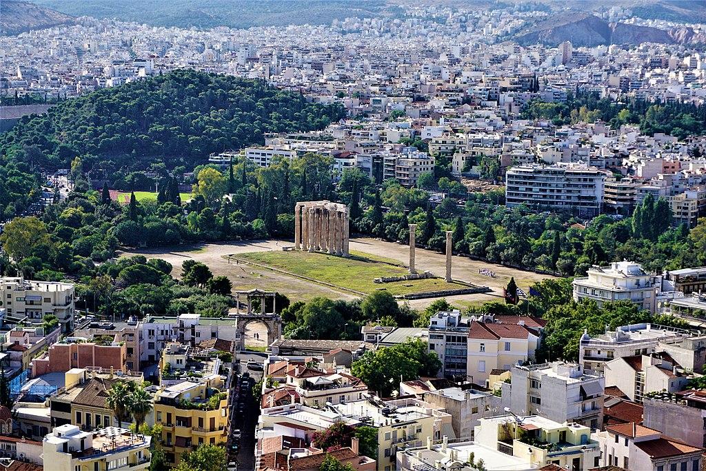 Temple of Olympian Zeus, Athens - Joy of Museum - 2