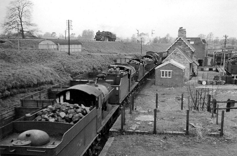 File:Templecombe - locomotives lined up beside old S&D Lower Station geograph-2672561-by-Ben-Brooksbank.jpg