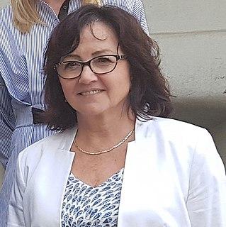 Teresa Kalina Polish politician and history teacher, from 2014 to 2018 chairman of the West Pomeranian Regional Assembly