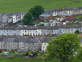 Terraced houses, Abertysswg (geograph 4010743).jpg