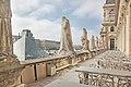 Terrasse de l'Aile Colbert de la Cour Napoléon, Louvre 2011.jpg