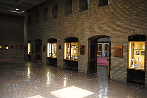 Texas Tech University School of Law - A view inside the law school.