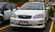 Thai registered car with Malaysian temporary license plates (01).jpg