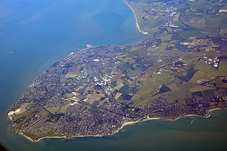 Isle of Thanet - The Isle of Thanet seen from the north